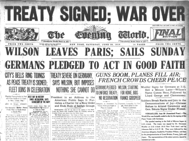 Treaty_of_Versailles_Newspaper_Article_